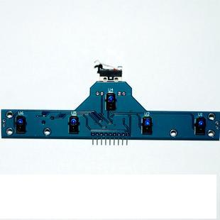โมดูล 7 sensor จับเส้น linetracker สำหรับทำหุ่นส่งของออกจากเขาวงกตหุ่นยนต์ซูโม่