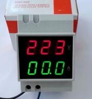 ดิจิตอลโวลต์และแอมมิเตอร์ แบบ AC220V 100A