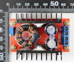 โมดูล 150W DC-DC เพิ่มโวลล์ต่ำไปสูง