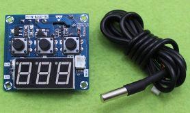 มิเตอร์12vควบคุมอุณหภูมิหม้อน้ำรถยนต์คุมได้ทั้งร้อนทั้งเย็นมี relay output
