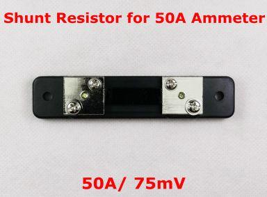 R shunt 50A สำหรับมิเตอร์วัดกระแส