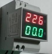 ดิจิตอลโวลต์และแอมมิเตอร์ แบบ AC220V 100A วัดได้สูงสุด 300v