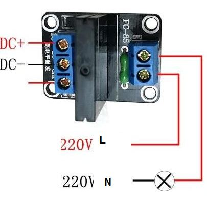solidState Relay 5V   1ช่อง